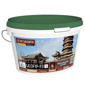 Краска для печей и дровяных каминов Geofip-FD5 жаростойкая белая