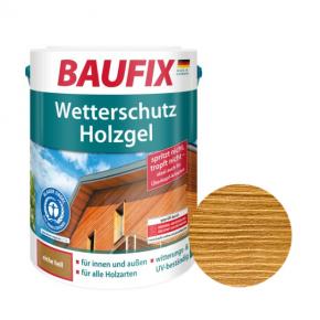 Лазурь для дерева Baufix Wetterschutz Holzgel гелевая светлый дуб - интернет-магазин tricolor.com.ua