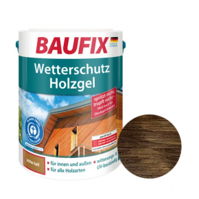 Лазурь для дерева Baufix Wetterschutz Holzgel гелевая палисандр - интернет-магазин tricolor.com.ua
