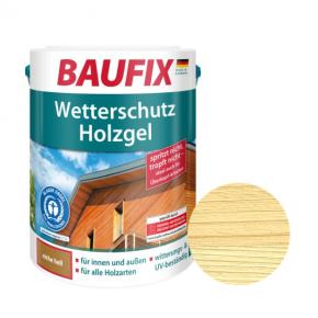 Лазурь для дерева Baufix Wetterschutz Holzgel гелевая прозрачная - интернет-магазин tricolor.com.ua