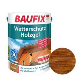 Лазурь для дерева Baufix Wetterschutz Holzgel гелевая тик - интернет-магазин tricolor.com.ua
