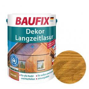 Лазурь для дерева Baufix Dekor Langzeitlasur декоративная светлый дуб - интернет-магазин tricolor.com.ua