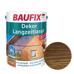 Лазурь для дерева Baufix Dekor Langzeitlasur декоративная грецкий орех - интернет-магазин tricolor.com.ua
