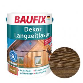 Лазурь для дерева Baufix Dekor Langzeitlasur декоративная палисандр - интернет-магазин tricolor.com.ua