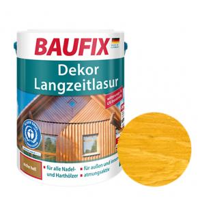 Лазурь для дерева Baufix Dekor Langzeitlasur декоративная сосна - интернет-магазин tricolor.com.ua