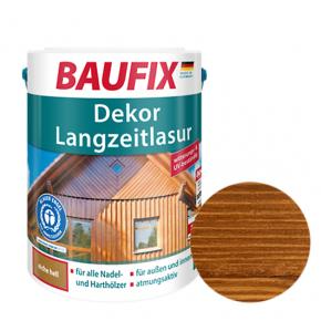 Лазурь для дерева Baufix Dekor Langzeitlasur декоративная тик - интернет-магазин tricolor.com.ua