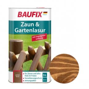 Лазурь для заборов Baufix Zaun & Gartenlasur каштан - интернет-магазин tricolor.com.ua