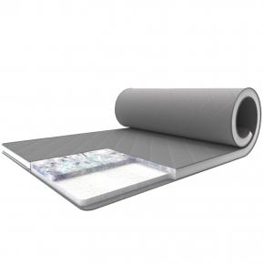 Матрас-топпер Family Sleep Grey-White Shine Шайн 180х200 с резинками-фиксаторами