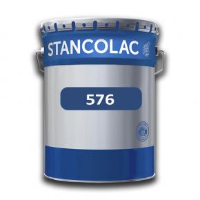 Краска по металлу и бетону Stancolac Хувер 576 для техники и портовых зданий база для колеровки белая