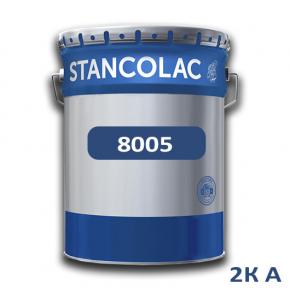 Краска Stancolac 8005 акрил-полиуретановая 2К А полуглянец для бетона, алюминия, пластика, стекла база для колеровки белая