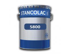 Краска полиуретановая Stancolac 5800 самовыравнивающаяся для наливного пола 2К А база для колеровки прозрачная