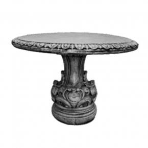 Форма стола Барокко D 108 см H 81 см RS стеклопластик, полиуретан