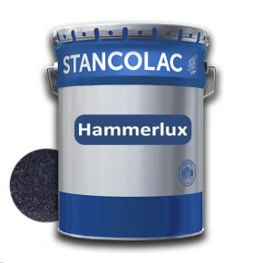Краска алкидная по металлу Stancolac Hammerlux Хаммерлюкс молотковая Черная 710