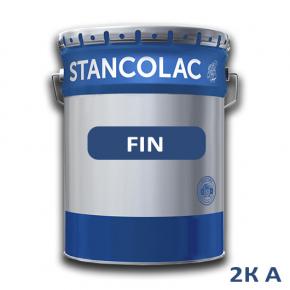 Краска полиуретановая Stancolac Fin Фин для деревянной мебели и поверхностей 2К А база для колеровки белая