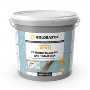 Клей Goldbastik BF 61 для винила LVT для пола и стен многоцелевой