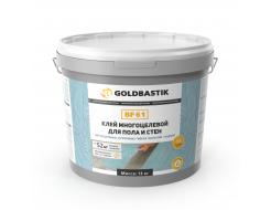 Клей Goldbastik BF 61 для винила LVT для пола и стен многоцелевой - изображение 2 - интернет-магазин tricolor.com.ua