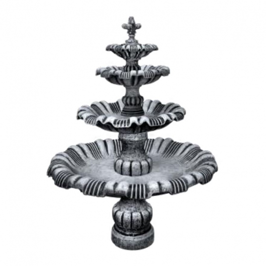 Форма для фонтана №1 RS (без бассейна) 2,25х1,3м стеклопластик, полиуретан