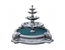 Форма для фонтана №2 RS 2,25х1,3м бассейн D 1,8/2,7м стеклопластик, полиуретан