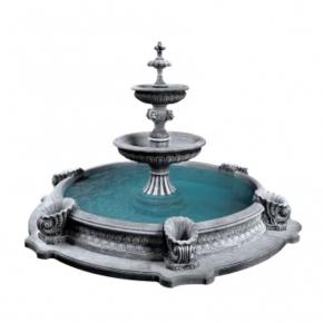Форма для фонтана №4 RS 2,8х1,5м бассейн D 3/4,2м стеклопластик, полиуретан