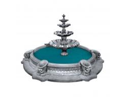 Форма для фонтана №5 RS 2,25х1,3м бассейн D 3/4,2м стеклопластик, полиуретан