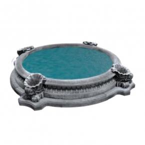 Форма для фонтана Бассейн №41 RS D 1,8/2,7м стеклопластик, полиуретан