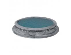 Форма для фонтана Бассейн №42 RS D 1,8/2,2м стеклопластик, полиуретан