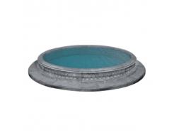 Форма для фонтана Бассейн №44 RS D 3/3,9м стеклопластик, полиуретан