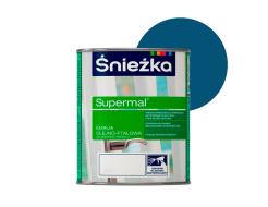 Эмаль масляно-фталевая Sniezka Supermal Суперэмаль Голубая F525 - интернет-магазин tricolor.com.ua