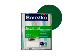 Эмаль масляно-фталевая Sniezka Supermal Суперэмаль Зеленая F505/RAL 6002 - интернет-магазин tricolor.com.ua