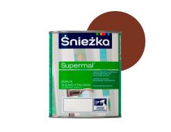 Эмаль масляно-фталевая Sniezka Supermal Суперэмаль Орех средний F560/RAL 8002 - интернет-магазин tricolor.com.ua