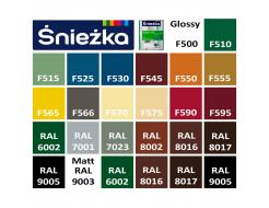 Эмаль масляно-фталевая Sniezka Supermal Суперэмаль Орех средний F560/RAL 8002 - изображение 2 - интернет-магазин tricolor.com.ua