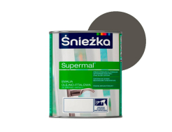 Эмаль масляно-фталевая Sniezka Supermal Суперэмаль Светло-серая F566 - интернет-магазин tricolor.com.ua
