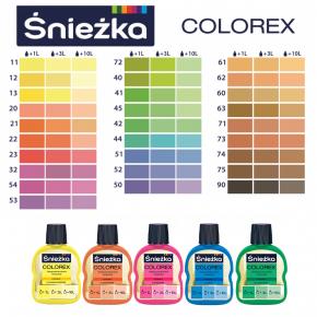 Пигмент Sniezka Colorex универсальный персиковый №20 - изображение 2 - интернет-магазин tricolor.com.ua