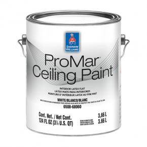 Краска Sherwin-Williams ProMar Ceiling Paint Flat White винил-акриловая глубокоматовая белая