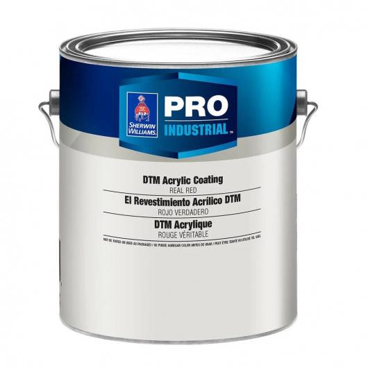 Антикоррозийное покрытие Sherwin-Williams Pro Industrial DTM Acrylic coating Semi-Gloss Extra White белое