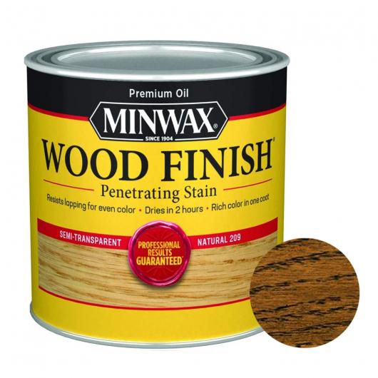 Защитная пропитка Minwax®Wood Finish для дерева на основе масла темный орех - интернет-магазин tricolor.com.ua