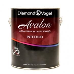 Краска интерьерная Diamond Vogel Avalon Ultra Premium Interior Latex Enamel Flat Neutral латексная шелковисто-матовая под колеровку