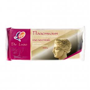 Скульптурный пластилин DeLux телесный - изображение 3 - интернет-магазин tricolor.com.ua