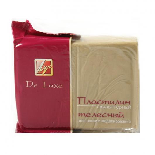 Скульптурный пластилин DeLux телесный - интернет-магазин tricolor.com.ua
