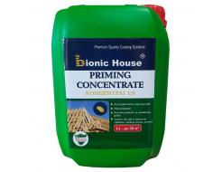 Антисептик для дерева Bionic House Priming Concentrate 1:9 несмываемый
