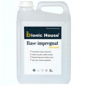 Антисептик для дерева Base Impregnat Bionic House для внутренних работ - интернет-магазин tricolor.com.ua