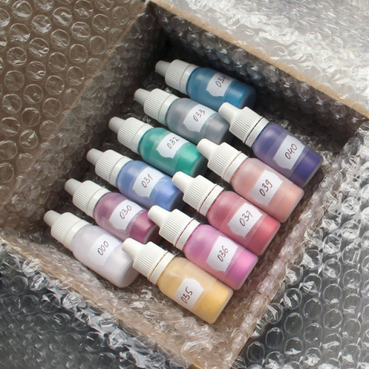 Низкотемпературная эмаль IMagic 00 прозрачная глазурь - изображение 3 - интернет-магазин tricolor.com.ua