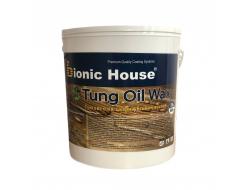 Масло тунговое с карнаубским воском Hard Tung oil Bionic House Макассар - изображение 2 - интернет-магазин tricolor.com.ua