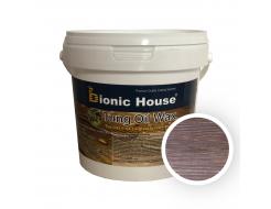 Масло тунговое с карнаубским воском Hard Tung oil Bionic House Макассар - интернет-магазин tricolor.com.ua