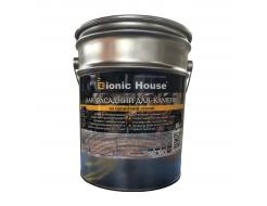 Лак фасадный для камня Bionic House с эффектом мокрого камня