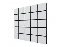 Акустическая панель A4Sound EchoFom Qubik 33 мм 50х50 см White