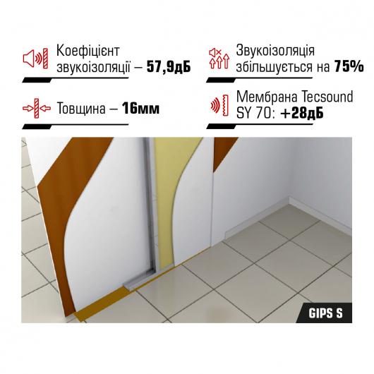 Панель Tecsound Gips S 1.2*1*0.16 - изображение 2 - интернет-магазин tricolor.com.ua