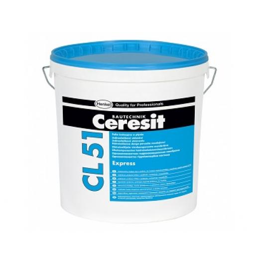 Однокомпонентная гидроизоляционная мастика Ceresit CL 51