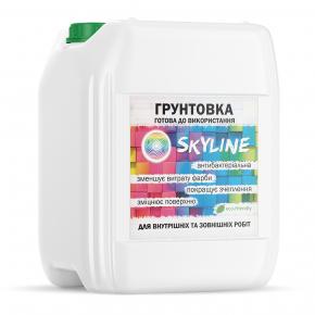 Грунтовка акриловая Skyline глубокого проникновения готовая к применению - изображение 2 - интернет-магазин tricolor.com.ua