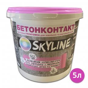 Грунтовка Бетонконтакт Skyline адгезионная кварцевая - изображение 4 - интернет-магазин tricolor.com.ua